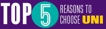 Top Five Reasons to Choose UNI